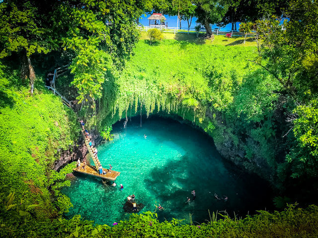 The-trench Samoa