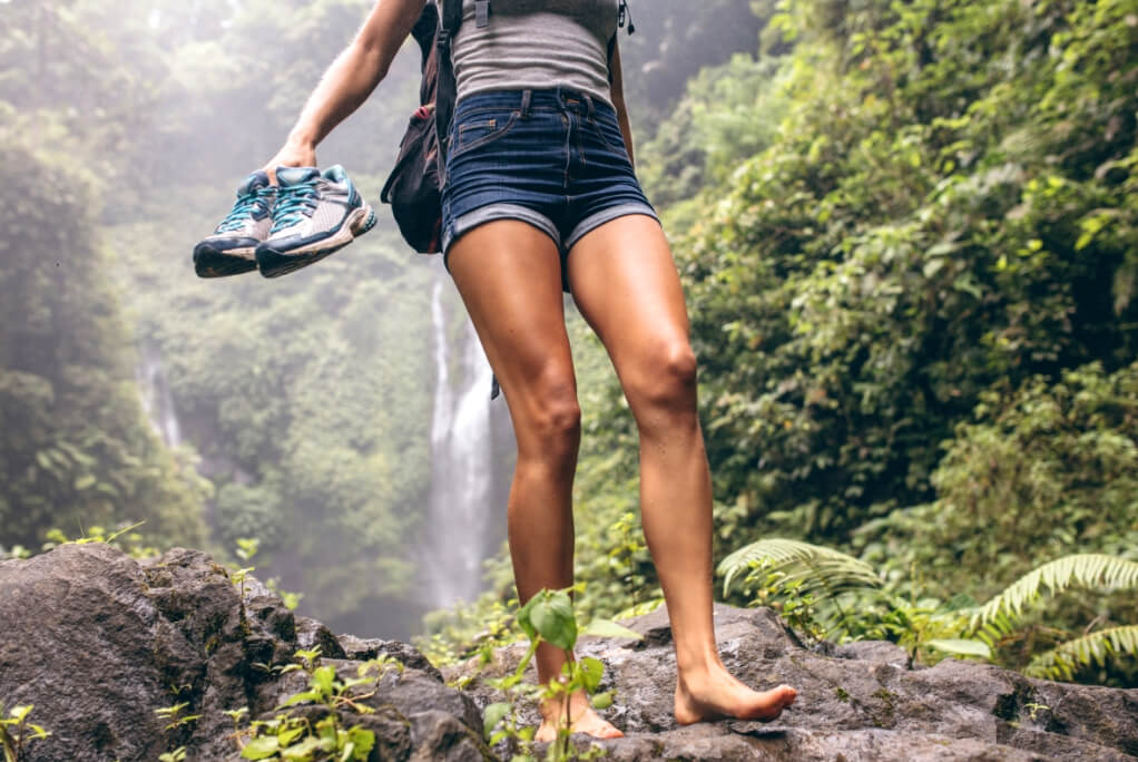 Walking waterfall shoes RF
