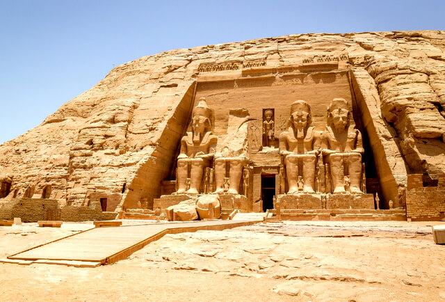 Abu Simbel Egypt Temple RF