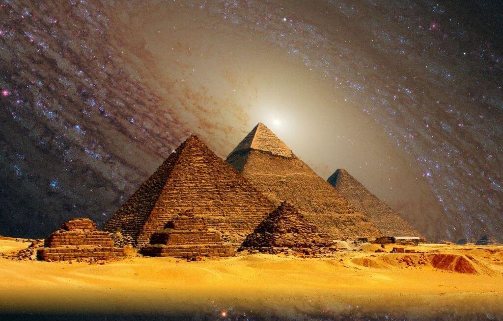 Pyramids Egypt Giza RF