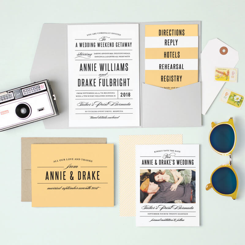 How to do Destination Wedding Invites Right! How to Make Them, How to Send Them, and Etiquette on What to Write